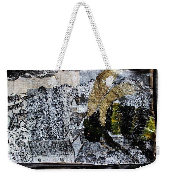 The Insects Watched Sensing They Were Next Weekender Tote Bag