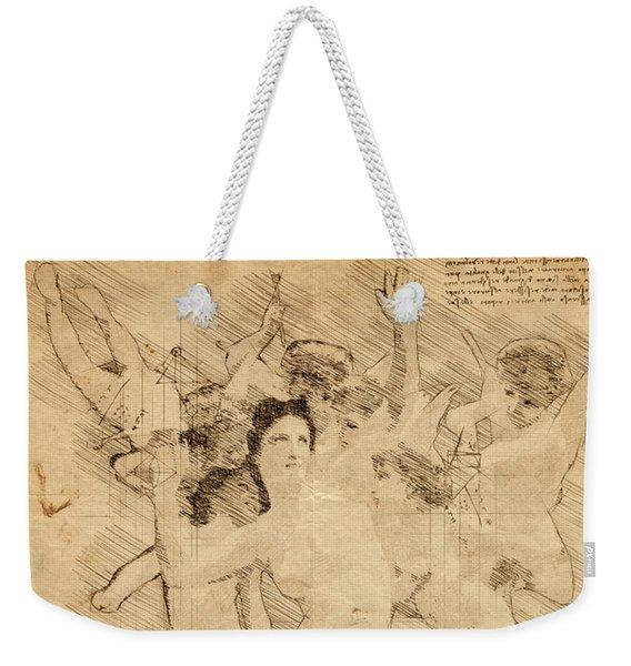 The Invasion Weekender Tote Bag