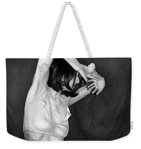 The Invisible Enemy - Self Portrait Weekender Tote Bag