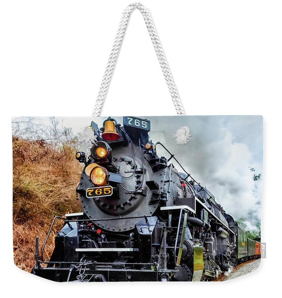 The Iron Horse  Weekender Tote Bag