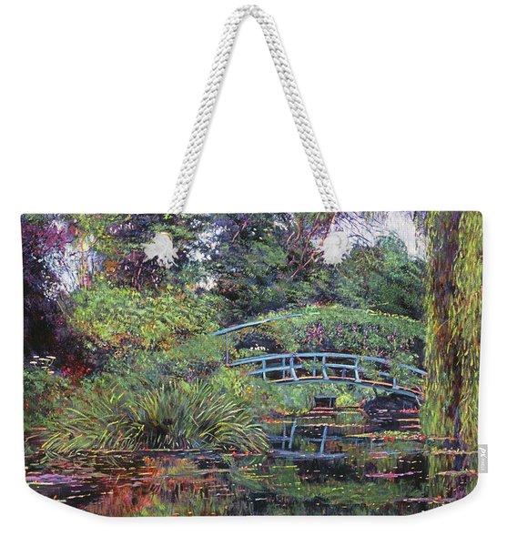 The Japanese Footbridge Weekender Tote Bag