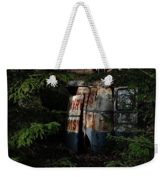 The Junk Yard Weekender Tote Bag