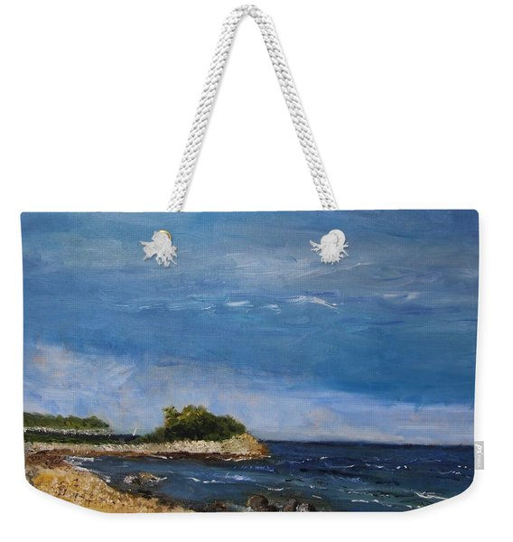 The Knob, Falmouth Weekender Tote Bag