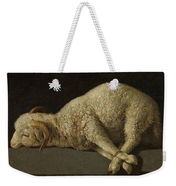 The Lamb Of God, Agnus Dei Weekender Tote Bag