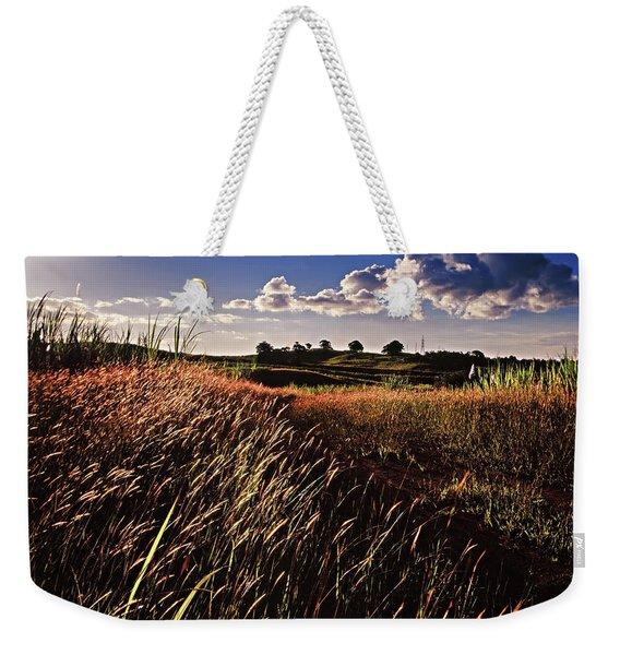 The Last Grassy Field, Trinidad Weekender Tote Bag