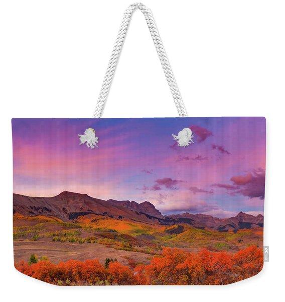 The Last Light Of September Weekender Tote Bag