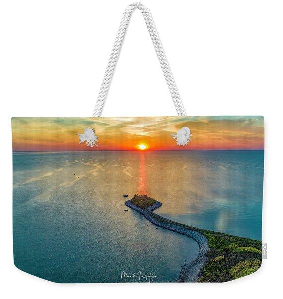 The Last Ray Weekender Tote Bag