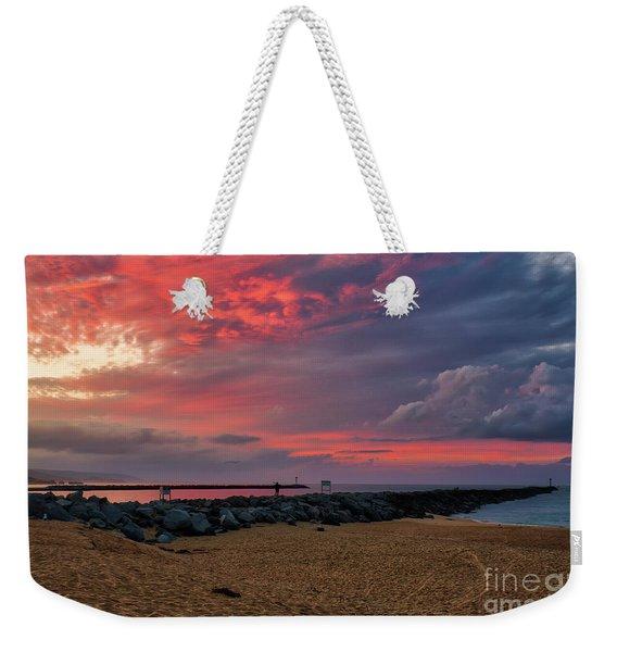 The Last Sunrise Of 2018 Weekender Tote Bag
