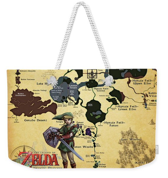 The Legend Of Zelda Weekender Tote Bag