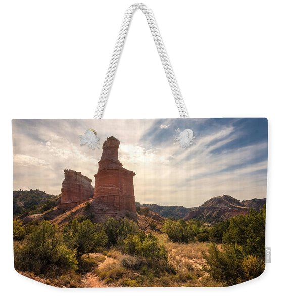 The Lighthouse - Palo Duro Canyon Texas Weekender Tote Bag