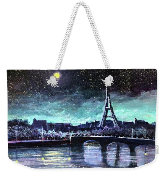 The Lights Of Paris Weekender Tote Bag