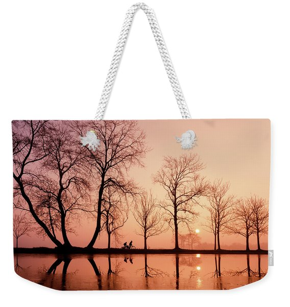 The Lightness Of Being - Early Reflections Weekender Tote Bag