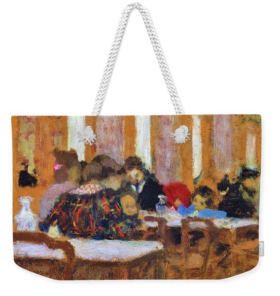 The Little Restaurant - Digital Remastered Edition Weekender Tote Bag