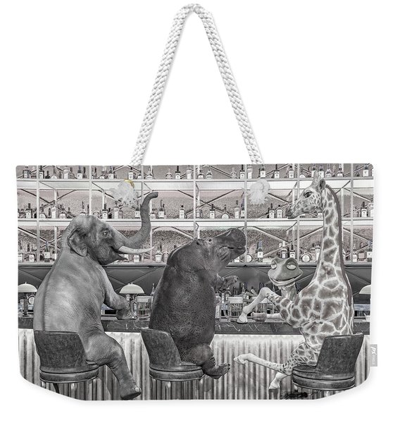 The Locals Desaturated  Weekender Tote Bag