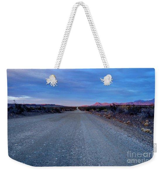 The Long Dirt Road Weekender Tote Bag