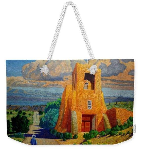 The Long Road To Santa Fe Weekender Tote Bag