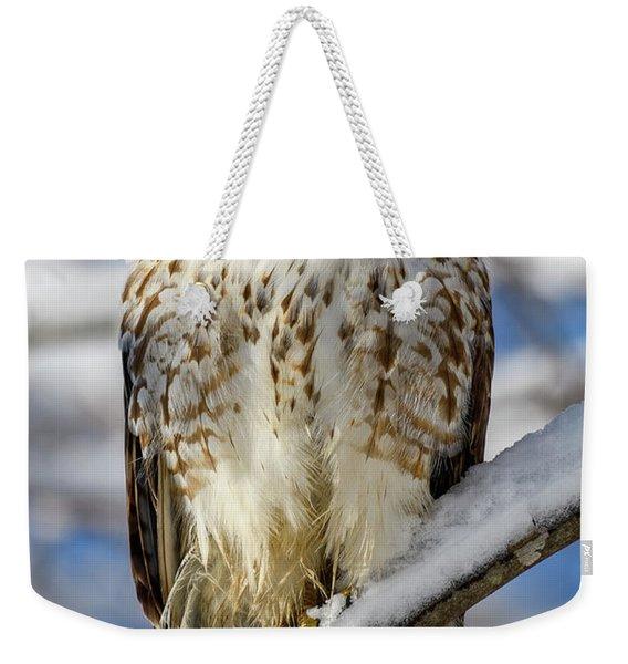 The Look, Red Tailed Hawk 1 Weekender Tote Bag