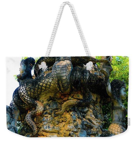 The Magic Of Sala Kaew Ku Weekender Tote Bag