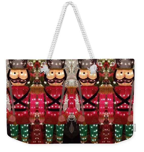 The March Of The Toy Soldiers Is On. Weekender Tote Bag