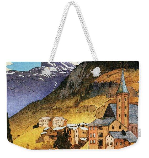 The Matterhorn - Digital Remastered Edition Weekender Tote Bag
