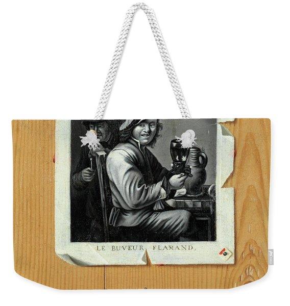 The Merry Drinker Weekender Tote Bag
