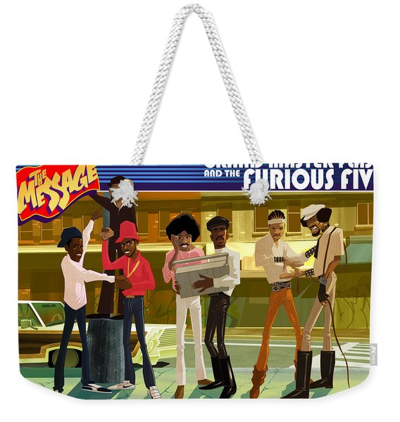 The Message Weekender Tote Bag