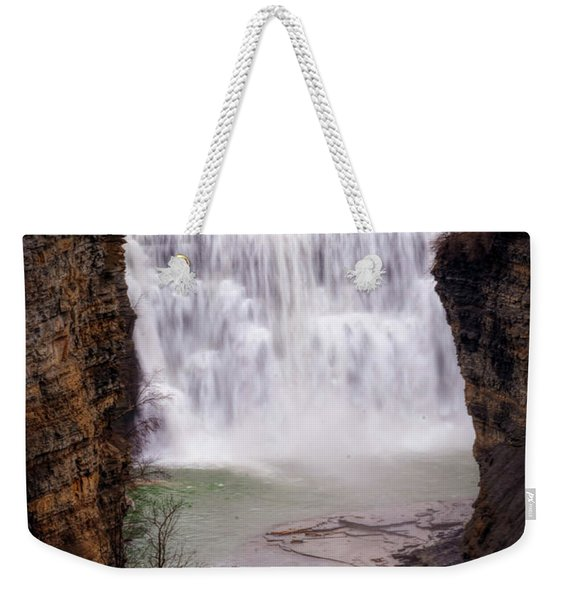 The Middle Falls Weekender Tote Bag