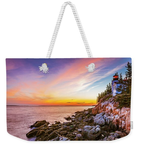 The Moment Of Sunset Weekender Tote Bag