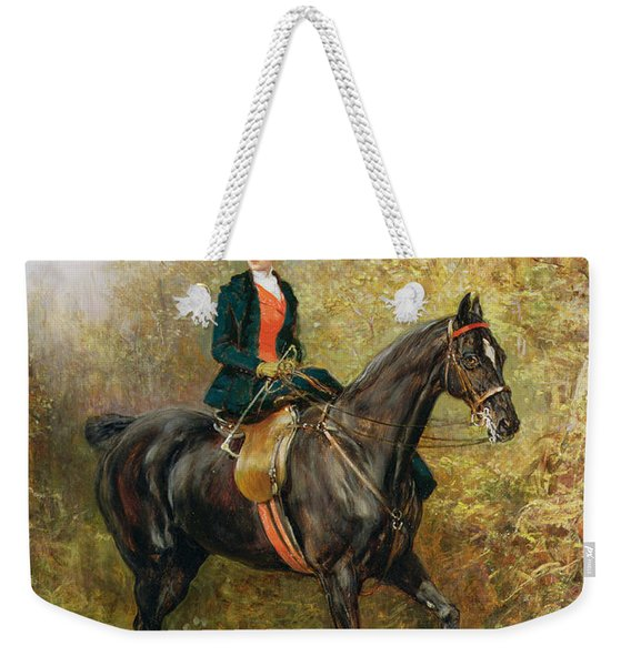 The Morning Ride, 1891 Weekender Tote Bag