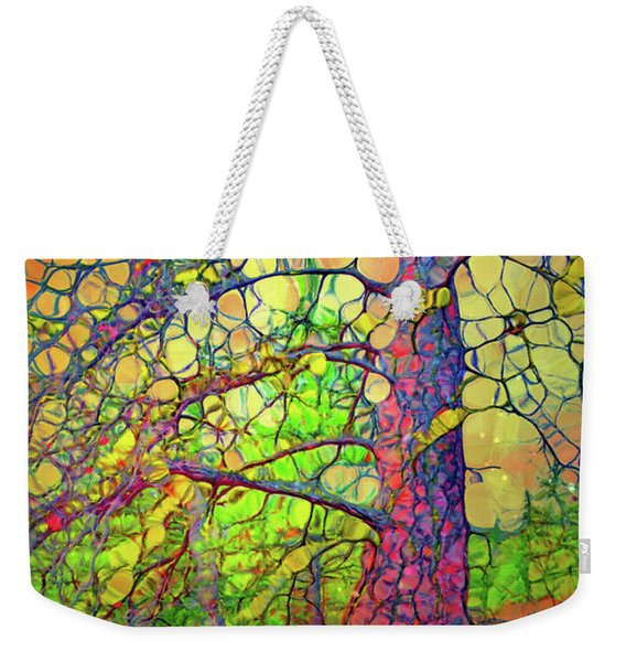 The Multilayered Wisdom Of Trees Weekender Tote Bag