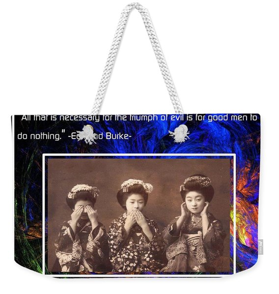The Mystic Circle Inspirational Series One Five Weekender Tote Bag