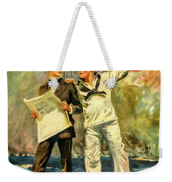 The Navy Needs You Weekender Tote Bag