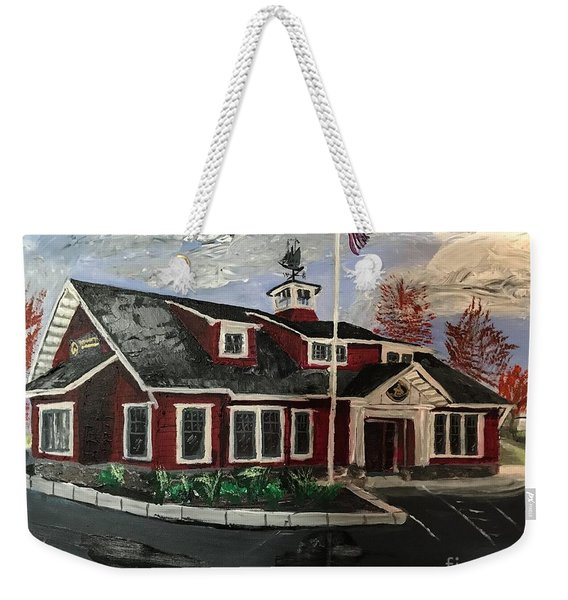 The New Dover, Nh Branch Weekender Tote Bag