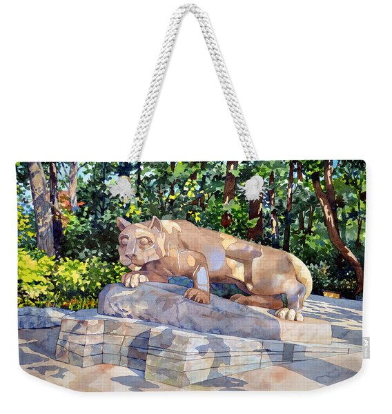 The Nittany Lion Weekender Tote Bag