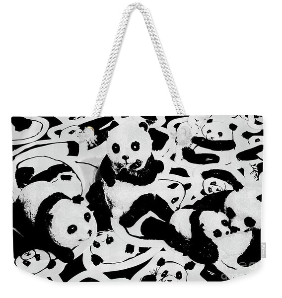 The Northern Black And Whites Weekender Tote Bag