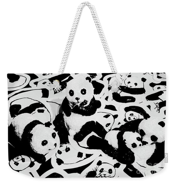 The Northern Black And Whites Weekender Tote Bag