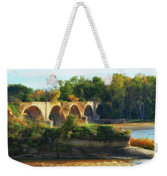 The Old Bridge  Weekender Tote Bag