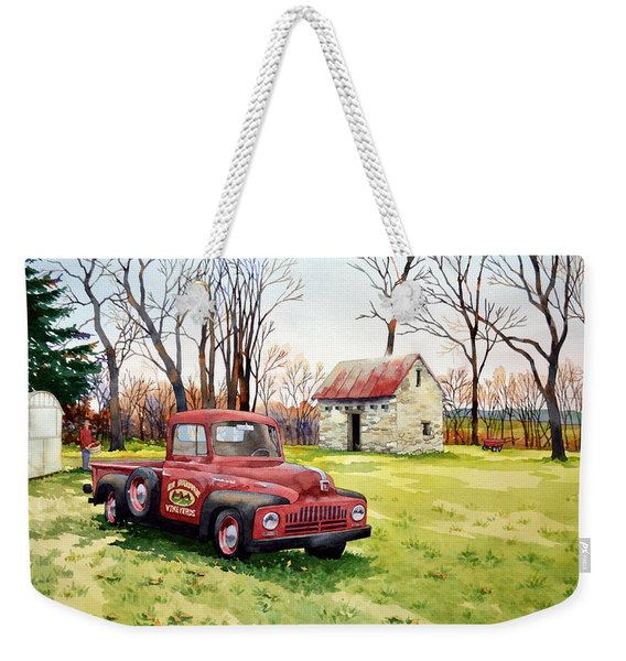 The Old Harvester Weekender Tote Bag