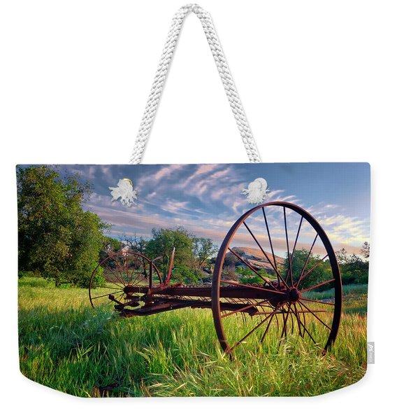 The Old Hay Rake 2 Weekender Tote Bag