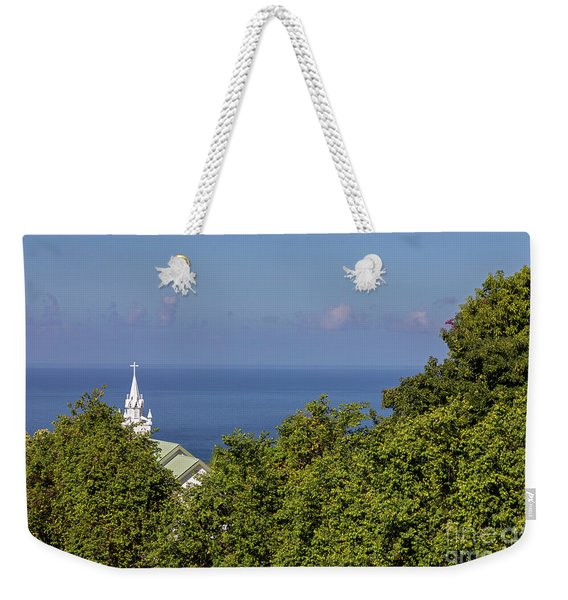 The Painted Church Weekender Tote Bag