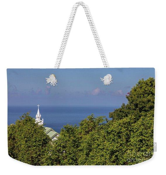 The Painted Church Weekender Tote Bag