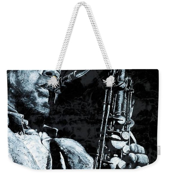 The Passion Of Sax Weekender Tote Bag