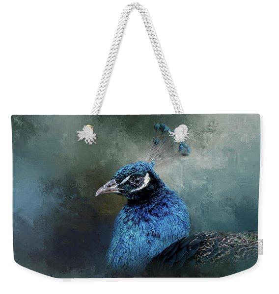 The Peacock's Crown Weekender Tote Bag