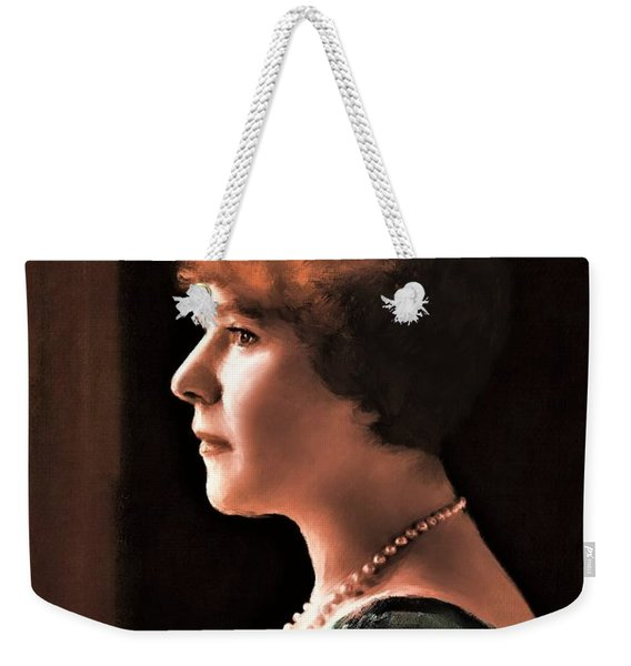 The Pearl Necklace Weekender Tote Bag
