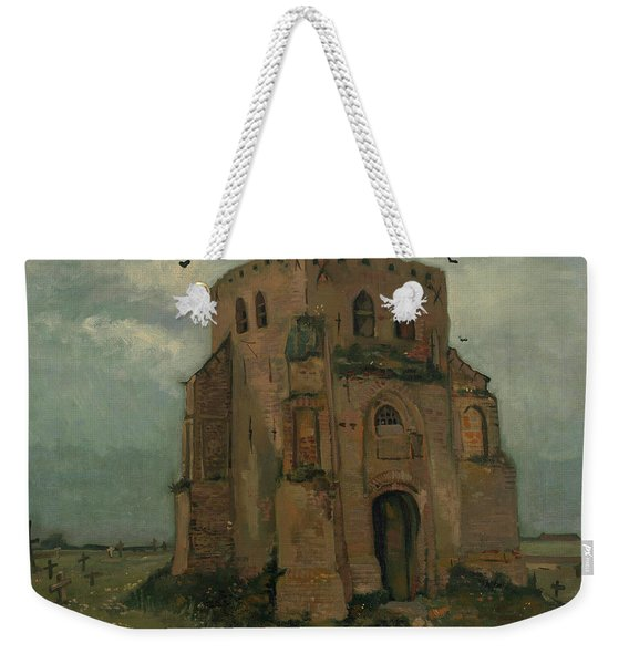 The Peasants Churchyard, The Old Church Tower Weekender Tote Bag