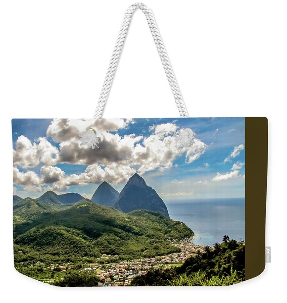 The Piton Twins Weekender Tote Bag