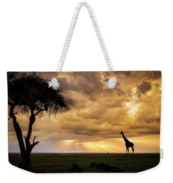The Plains Of Africa Weekender Tote Bag