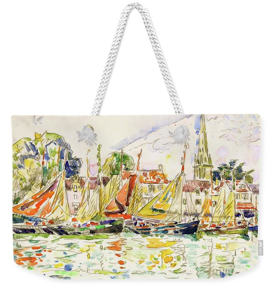 The Pouliguen, Fishing Boats - Digital Remastered Edition Weekender Tote Bag