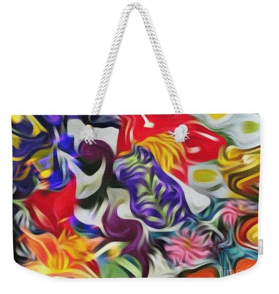 The Power Of Flowers Weekender Tote Bag