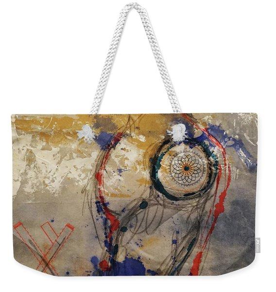The Protector Of The Sacred Feminine  Weekender Tote Bag